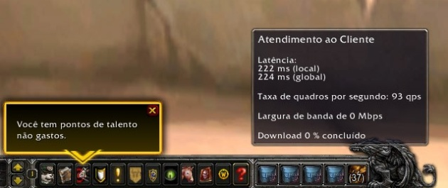 Mudanças no Mini Menu 5.4 WoW